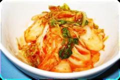 【白菜のキムチ】 お好みでニラ、ねぎなど加え て一層おいしく!
