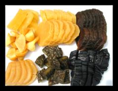 【粕漬いろいろ】はやとうり、きゅうり、なす、菊芋、冬瓜、干大根、かりもり