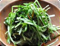 【水菜の塩漬】