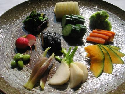 いろいろ野菜のぬか漬